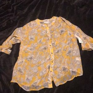 Liberty of London Style Print Top